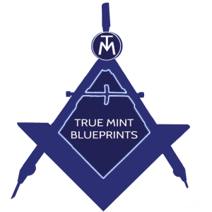 True Mint Blueprints Logo