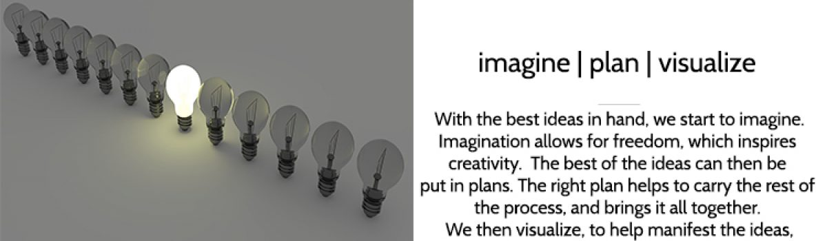 Step 3 – imagine | plan | visualize