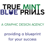 True Mint Blueprints - A Graphic Design Agency