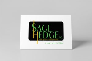 Sage Hedge Word Mark Logo